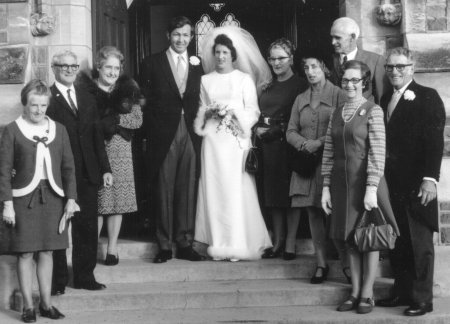 Harvey and Judy, and the Blunden family.