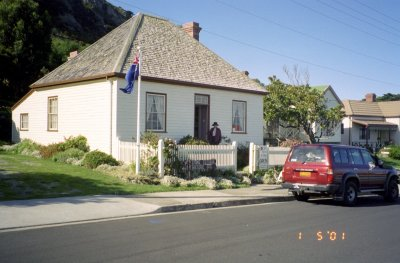 The Lyons cottage in Stanley.